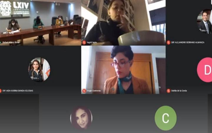 Realizan foro de consulta sobre iniciativas sobre aborto y 'provida' en Congreso de Aguascalientes