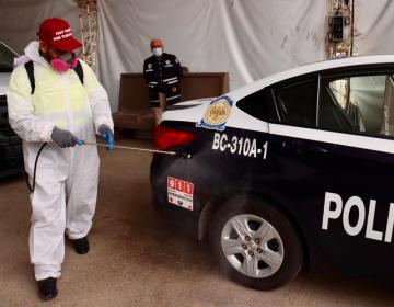 Desinfección permanente de espacios y transporte público, una de las estrategias contra el COVID-19  en Tijuana
