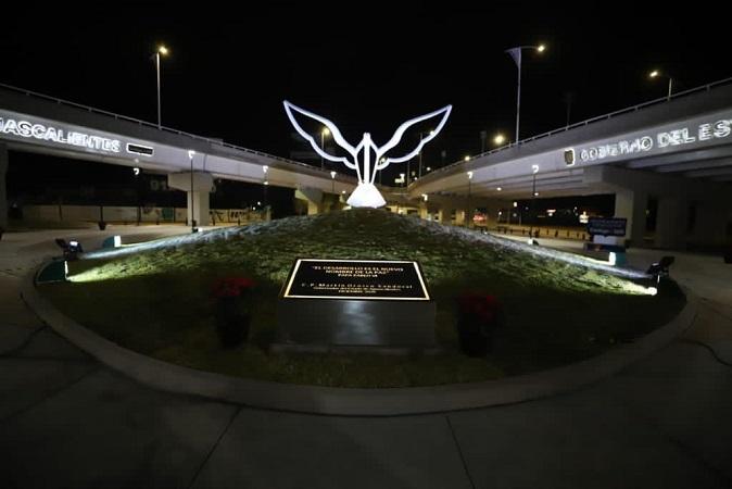 Inauguran bajo puente del distribuidor vial Las Américas