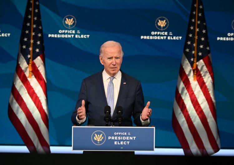 Biden condena ataque al Congreso: 'La democracia está en peligro'