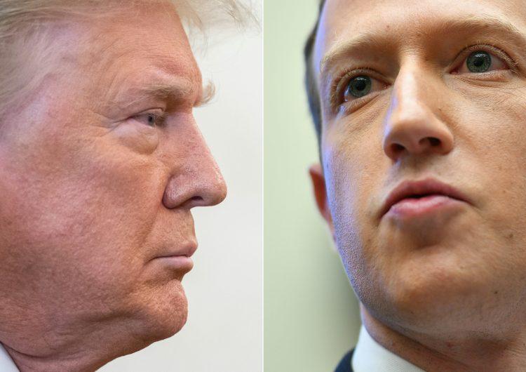 No se tiene intención de levantar la suspensión de la cuenta de Donald Trump: Facebook