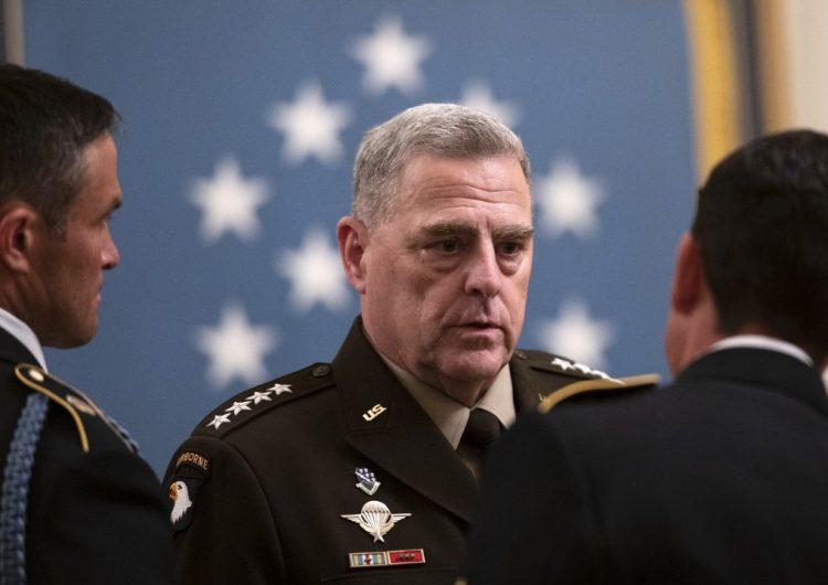 Principales líderes militares de EU condenan asalto al Capitolio y reafirman apoyo a Biden