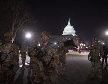 EU despliega elementos armados de la Guardia Nacional para resguardar Capitolio