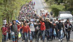 Caravana rumbo a Estados Unidos suma más de 9,000 migrantes…