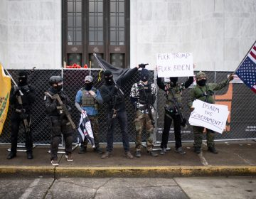 Violentas protestas en Seattle y Oregon horas después de la investidura de Biden