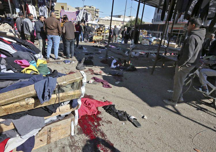 Ataque suicida deja 32 muertos y más de un centenar de heridos en un mercado