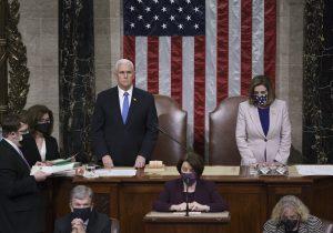 El Congreso estadounidense valida la victoria de Joe Biden