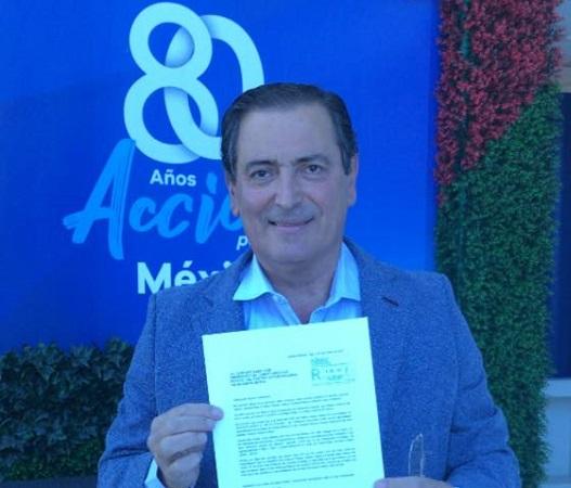 Renuncia Reynoso Femat a militancia en el PAN