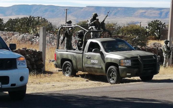 Detienen a 12 presuntos sicarios con arsenal de armas largas en Aguascalientes