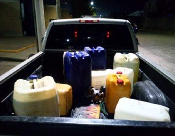 Detienen a sujeto que transportaba 200 litros de diesel irregular en Aguascalientes