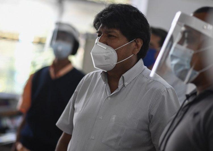 Evo Morales da positivo a COVID-19, revela senador de Bolivia