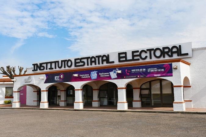 Se registran dos coaliciones electorales ante el IEE de Aguascalientes