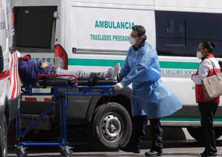 Cada 24 horas ingresan 40 pacientes Covid a hospitales de Puebla