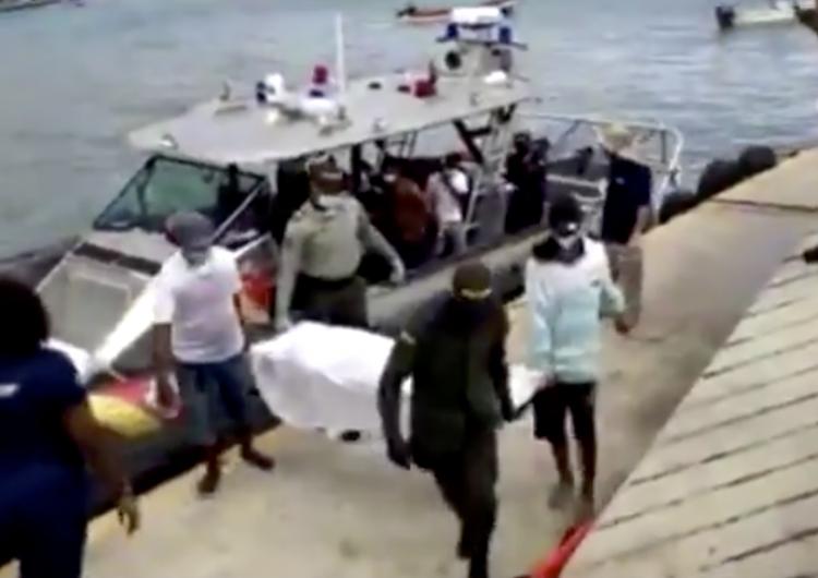 Cinco muertos y 14 desaparecidos, el saldo de un naufragio en Colombia