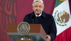 El presidente López Obrador anuncia que dio positivo a COVID-19