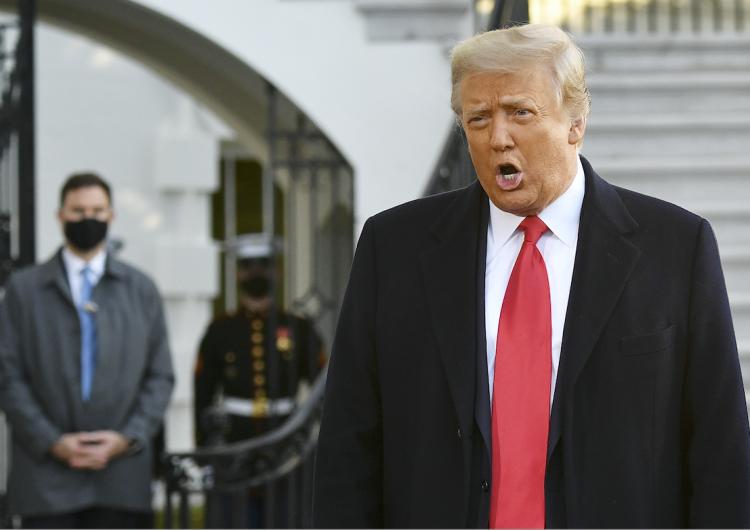 Incitación a la insurrección y amenaza al sistema democrático, acusaciones en juicio contra Trump