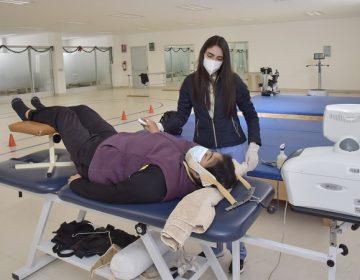 Brinda DIF Estatal terapia pulmonar para personas que hayan padecido Covid-19