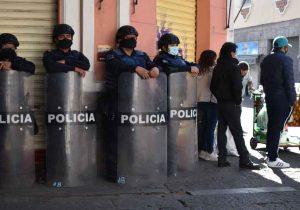 Gobierno de Puebla sin apoyo de la policía municipal