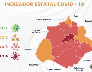 Regresa Pabellón de Arteaga al color rojo del Indicador Covid