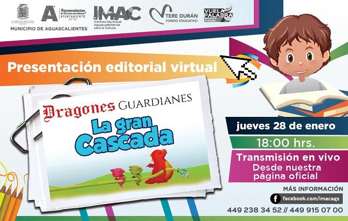 Presentará IMAC libro infantil sobre el cuidado del agua