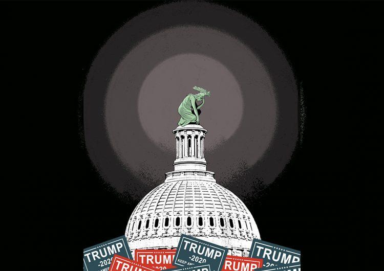 ¿Y EU tras el paso de Trump? 'A prueba, pero no roto'