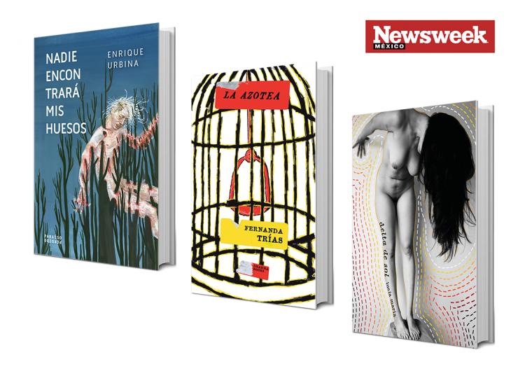 Tres libros: Enrique Urbina, Fernanda Trías, Lucía María…