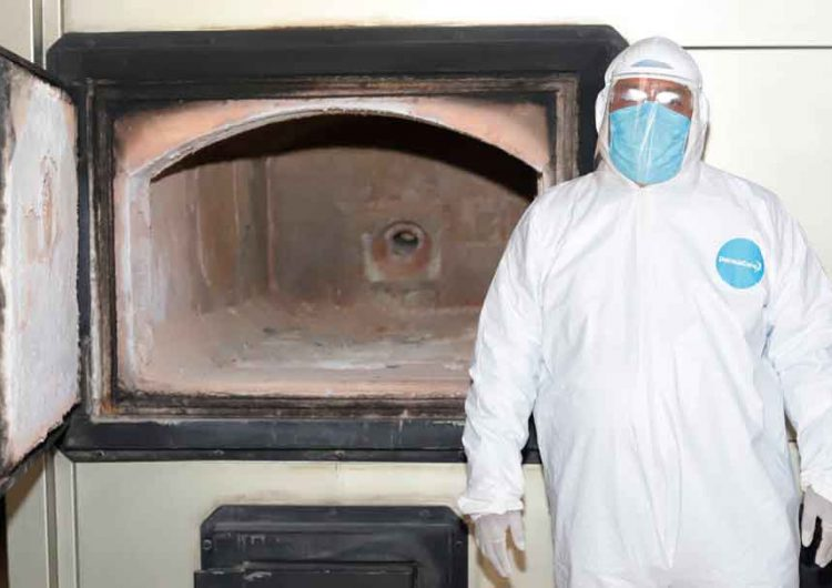 Muertes Covid mantiene crematorios saturados en Puebla