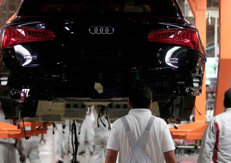 Para evitar contagios Covid, Audi Puebla prepara paro técnico
