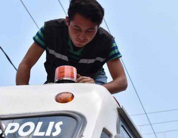 Videovigilancia solo en el 60 % del transporte público poblano