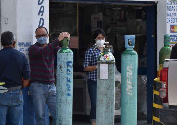 Vigilan a proveedoras de oxígeno para evitar abusos