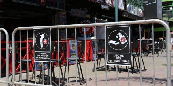 Cierran desde hoy restaurantes-bar en BC
