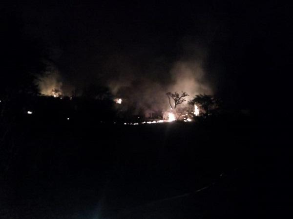 Se registra nuevo incendio en predios del Bosque de Cobos