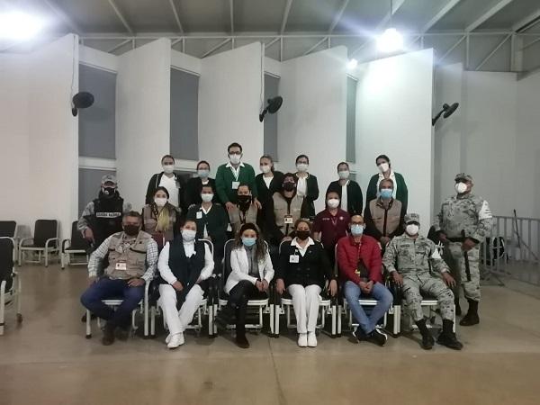 Concluye IMSS vacunación anti-Covid en su personal médico en Aguascalientes