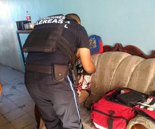 Paramédicos rescatan a joven de 18 años que pretendía quitarse la vida en Aguascalientes