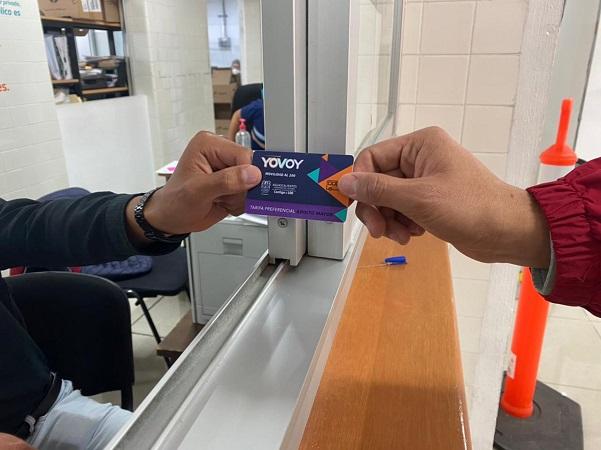 Abre CMOV periodo de reactivación de tarjeta YoVoy para adultos mayores y personas con discapacidad