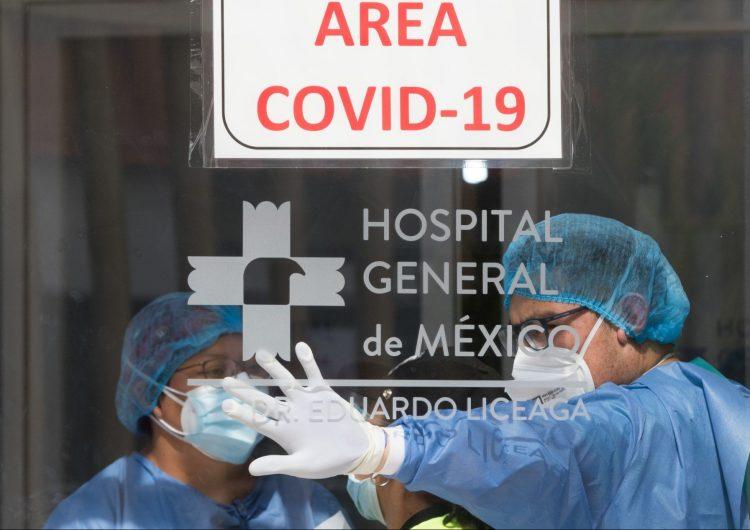 Se registran 18,670 casos nuevos y 1,506 muertes por COVID-19 en México