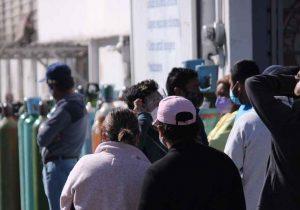 Frenarán abusos por escasez de tanques de oxígeno en Puebla