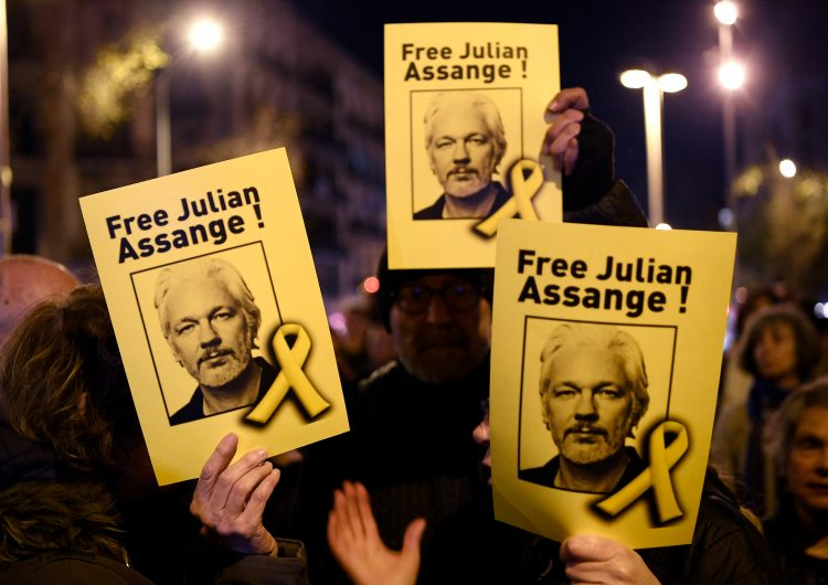 Caso Wikileaks: organizaciones piden a Biden retirar cargos contra Julian Assange