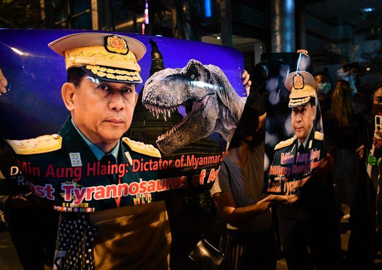 EU evalúa sanciones contra militares birmanos que cometieron golpe de Estado