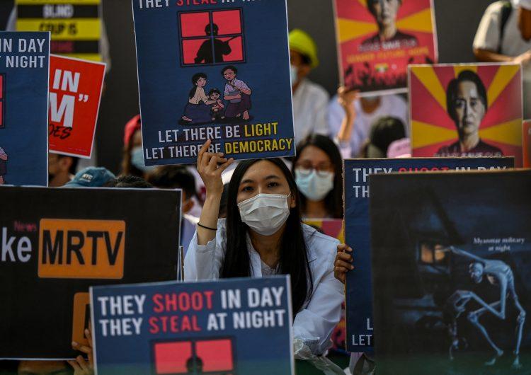 ONU condena cortes de internet en Birmania; 'socavan los principios democráticos'
