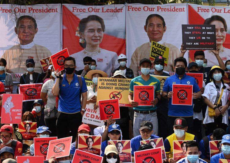 Birmania: ONU condena la muerte de dos manifestantes por disparos de fuerzas de seguridad
