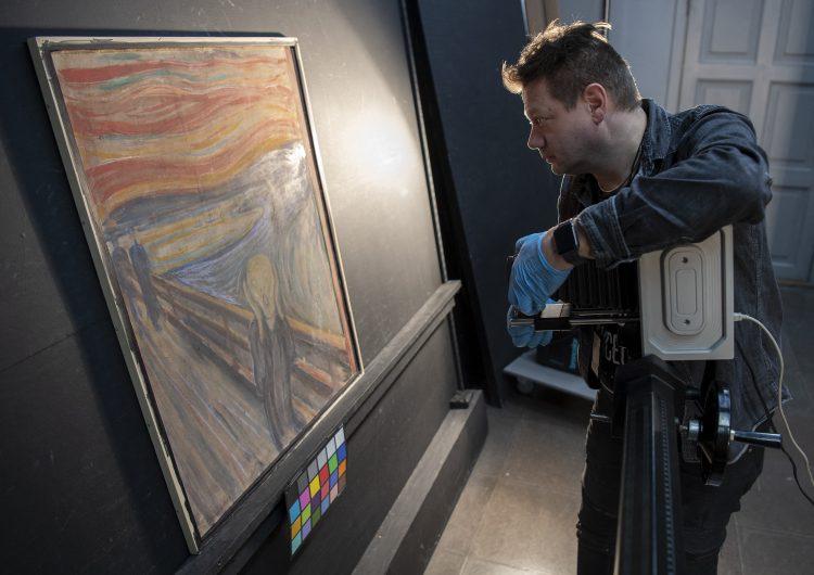 Se resuelve el misterio de la leyenda escrita en 'El grito' de Edvard Munch