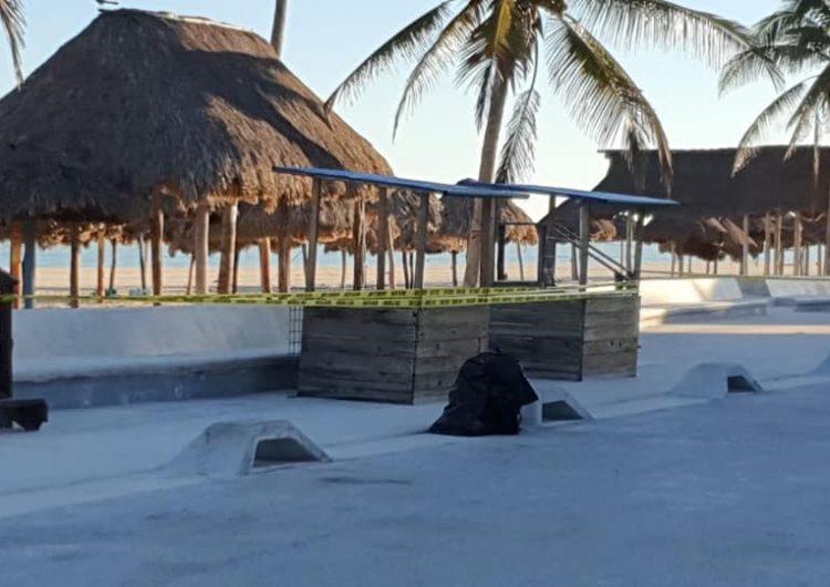 Por COVID cierran acceso a malecón y playas en Progreso