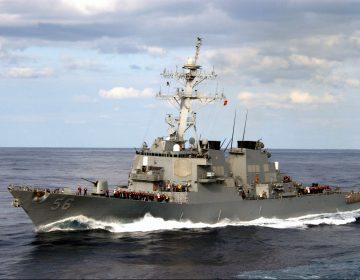 Gobierno de China afirma que ordenó a barco de guerra estadounidense salir del mar territorial