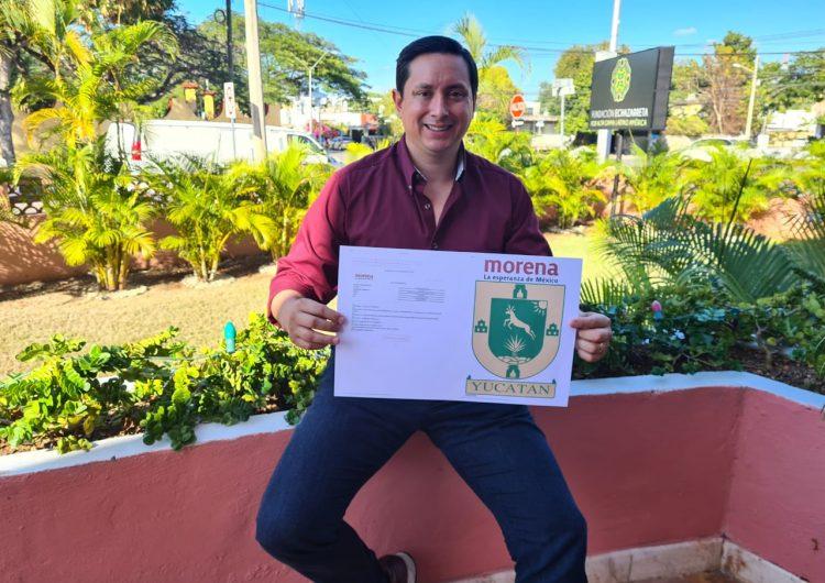 Presidente de Fundación Echazarreta aspira a Presidencia Municipal de Mérida