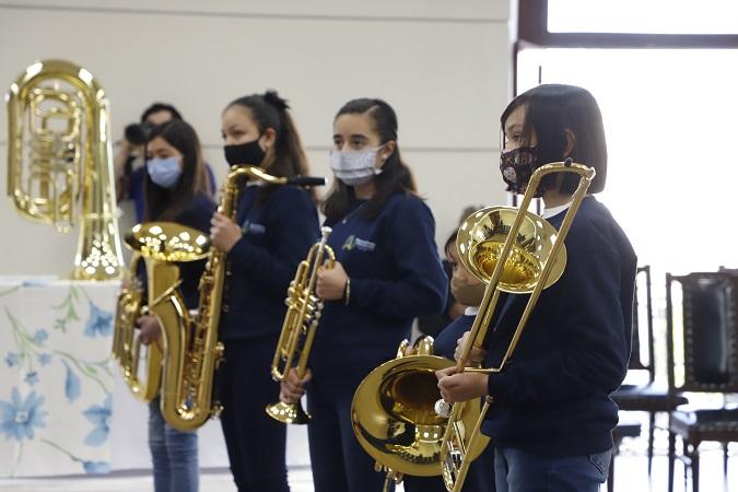 Entregan instrumentos para nueva banda sinfónica infantil y juvenil en Aguascalientes