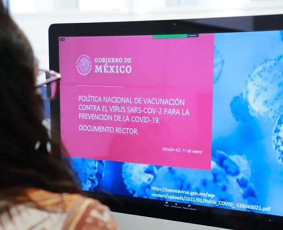 Más de 400 alumnos de la UAA se suman a capacitación de brigadas de vacunación contra el Covid-19