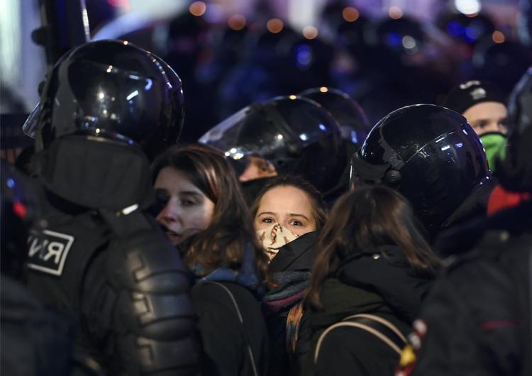 Gobierno de Rusia defiende 'firme' respuesta policial contra protestas a favor de líder opositor