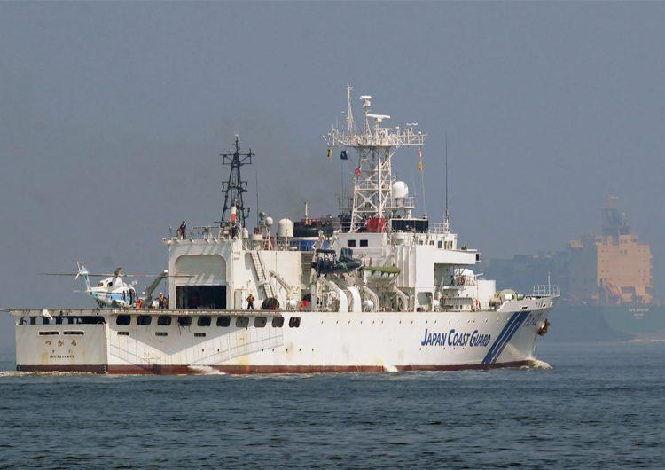 China utiliza su Guardia Costera para reclamar islas controladas por Japón