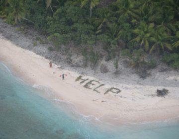 Guardia Costera de EU rescata a tres cubanos que llevaban atrapados 33 días en una isla desierta